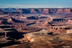 Canyonlands National Park, Utah - Island in the Sky Green River Overlook