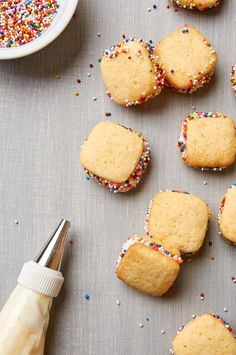 I love how you can eat these grapefruit cookies in one bite. Perfectly sized for brunches or picnics.   ibakeheshoots.com