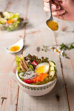 Salad / Ensalada & vinagreta (Photo by Luis Sandoval / Agridulce)