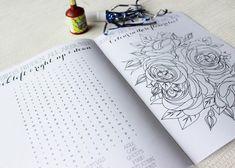 kids activity book at a wedding reception