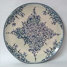 Piatto - Ceramiche Artistiche di Caltagirone - La Ceramica di Caltagirone #lcaltagirone #sicilia #sicily
