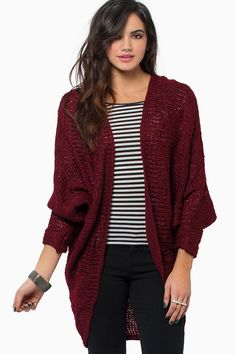 Would like a batwing cardigan- work appropriate, not black blue or gray. – Outfits for Work Would like a batwing cardigan- work appropriate, not black blue or gray. Maroon Cardigan Outfit, Burgundy Cardigan, Cardigan Outfits, Cardigan Fashion, Fall Outfits, Cute Outfits, Fashion Outfits, Gray Outfits, Outfit Winter