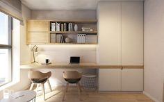Mieszkanie w Katowicach, 90 m2 - Biuro, styl nowoczesny - zdjęcie od TIKA
