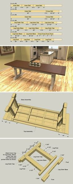 The classic look of a farmhouse table is as popular today as ever—and not just in farmhouses. A farmhouse table looks great in an urban loft or suburban home. That's because this type of table offers simple styling, solid construction, and versatility tha