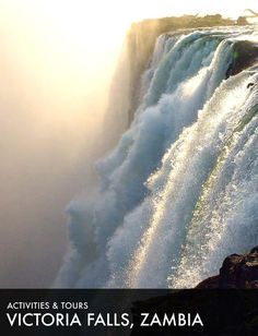 Safari Adventure, Victoria Falls, I Have A Dream, Autumn Activities, African Safari, Niagara Falls, Tours, Travel, Viajes