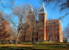 Washington & Jefferson College in Pennsylvania; founded in 1781 it is the oldest college west of the Allegheny Mountains and is the 11th oldest in the United States.