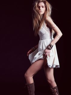 Free People Victoria Mini Dress, $49.95