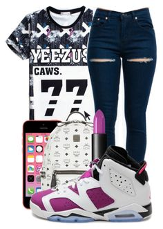 """""""Untitled #294"""" by kenziesg ❤ liked on Polyvore featuring MCM, NARS Cosmetics and Retrò"""