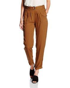 New Look Hose Twirl Viscose Twill Trousers (braun)
