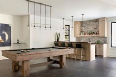 Modern European home in Midwest with gorgeous Scandinavian details Black Window Frames, Oak Shelves, European House, Parade Of Homes, Dream House Plans, Visual Comfort, Scandinavian Home, Modern Spaces, Ranch Style