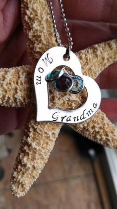 Custom Hand Stamped Necklace Stainless Steel by DawnsMetalDesigns, $20.00