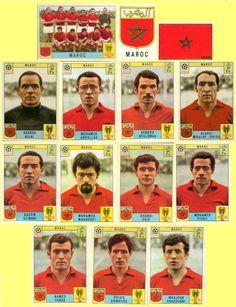 Panini stickers 1970 FIFA World Cup Mexico - Morocco squad