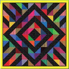 Radiant Graphic Quilt