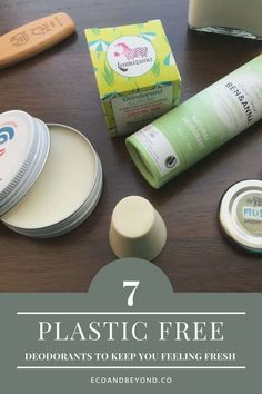 Make the switch to a zero waste, plastic free deodorant with one of these seven eco friendly options. Homemade Deodorant, Natural Deodorant, Paper Packaging, Packaging Design, Tin House, Pink Grapefruit, Plastic Bottles, Glass Jars