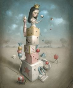 The Princess and the Prey - Nicoletta Ceccoli