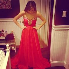 Oh my! Can I do prom all over again just for this dress?!