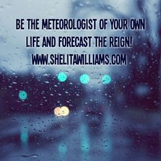 Be the meteorologist of your own life and forecast the Reign!