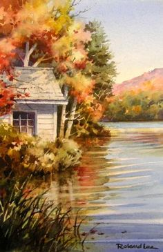 October Lake House , Roland Lee
