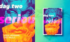 ☝ static eyes☝One poster every day for three months.A personal challenge where I plan to draw 90 posters in 90 days. Vector Pop, Good Morning, Sculptures, Behance, Posters, Illustrations, Eyes, Drawings, Art