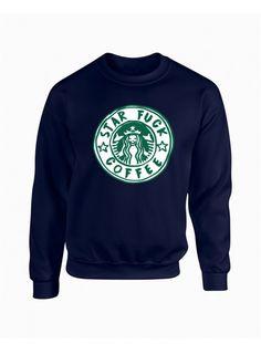 Sudadera STAR FUCK COFFEE. Encuentra las últimas tendencias en sudaderas y  moda joven para hombre 4a19ad213cbe