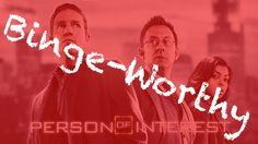 #Bingeworthy Person of Interest || Page and Screen #tv #netflix #netflixandchill #personofinterest