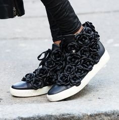 Absolutely Chanel! #lfw #streetstyle