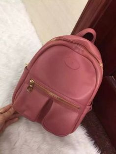 Mulberry Spring Summer 2015 Collection Outlet UK-Mulberry Henry Backpack in Rose Petal Small Classic Grain