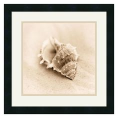 Have to have it. Il Oceano No. 3 Framed Wall Art - 17.88W x 17.88H in. - $81 @hayneedle