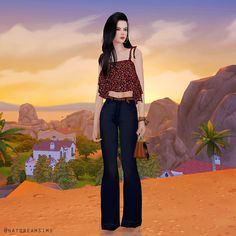 Looks do Instagram – The Sims 4   Nat Dream Sims
