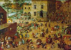 "Arthur Leipzig, ""Chalk Games,"" 1950 vs. Pieter Bruegel the Elder's ""Children's Games,"" 1560 RIP photographer Arthur Leipzig: "" He began photographing New York children in the early 1940s and..."