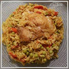 Arroz con pollo – Riz au poulet cubain   Recettes Cookeo