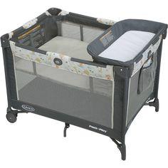 Pack N Play Baby Bed Bassinet Diaper Changer Travel Portable Playpen Napper  #Graco