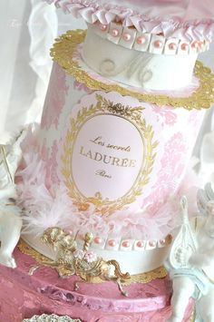 Laduree...a Marie Antoinette-esque creation