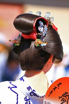 Japanese Geisha, Japanese Beauty, Japanese Kimono, Japan Art, Japan Japan, Traditional Fashion, Traditional Japanese, Traditional Hairstyle, Asian Photography