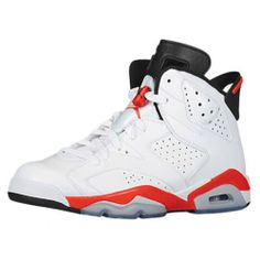 Pre Order 384664-123 Air Jordan 6 Retro Infrared White/Infrared-Black 2014 Cheap Women Men Youth Size $119.99 http://www.onfootlocker.com/