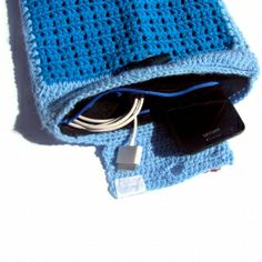 Crocheting Gadgets : Sky Blue Crochet iPAD Cover - Electronics & Gadgets - Home & Living ...