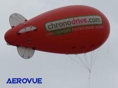 ballon dirigeable publicitaire hélium PVC 5m