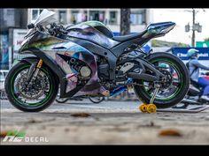 ZX10R Zx 10r, Kawasaki Motorcycles, Kawasaki Ninja, Bike Life, Chopper, Decal, Vehicles, Sportbikes, Motorcycles
