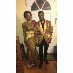 Congratulations to the new couple   #congoleseweddingkitoko