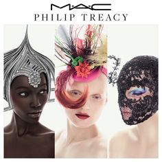 Renowned milliner Philip Treacy is teaming up with MAC Cosmetics for a collection set to launch in April 2015.