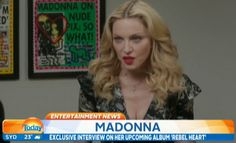 Preview of Madonna's interview for Australia Today  Read more: http://www.madonnaglam.com/news/preview-of-madonnas-interview-for-australia-today/