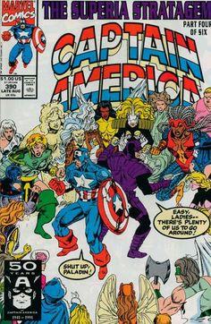 Captain America # 390 by Ron Lim & Danny Bulanadi