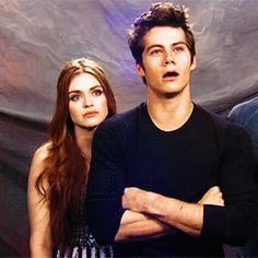 Holland Roden & Dylan O`Brien