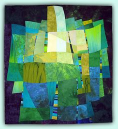 Art quilt by Melody Johnson: My Chattanooga AQS Exhibit