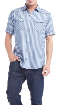 Blue Stripe by BTNS Shirt :)