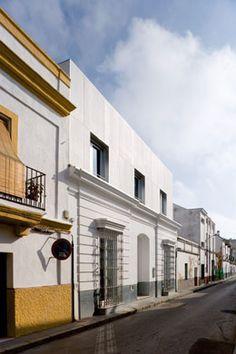 On Diseño - Proyectos: Vivienda unifamiliar en el casco histórico de Sanlúcar de Barrameda.