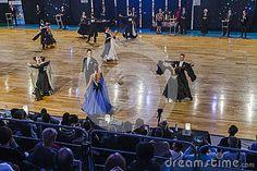 The national ballroom dance contest , Kraków 2015 . Poland.