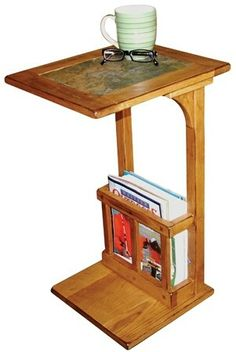 cool table/stand for computer, books, coffee etc
