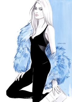 FASHION « Lena Ker | fashion illustration