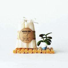 Travel Soap Sticks by prunellasoap #etsy #vegan